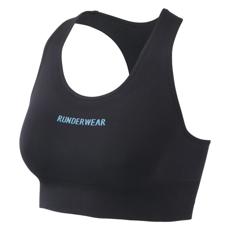 RunderwearAllImages 0013 Runderwear Womens Crop Top Black 4 800x800 - Women's Runderwear Low-Impact Crop Top