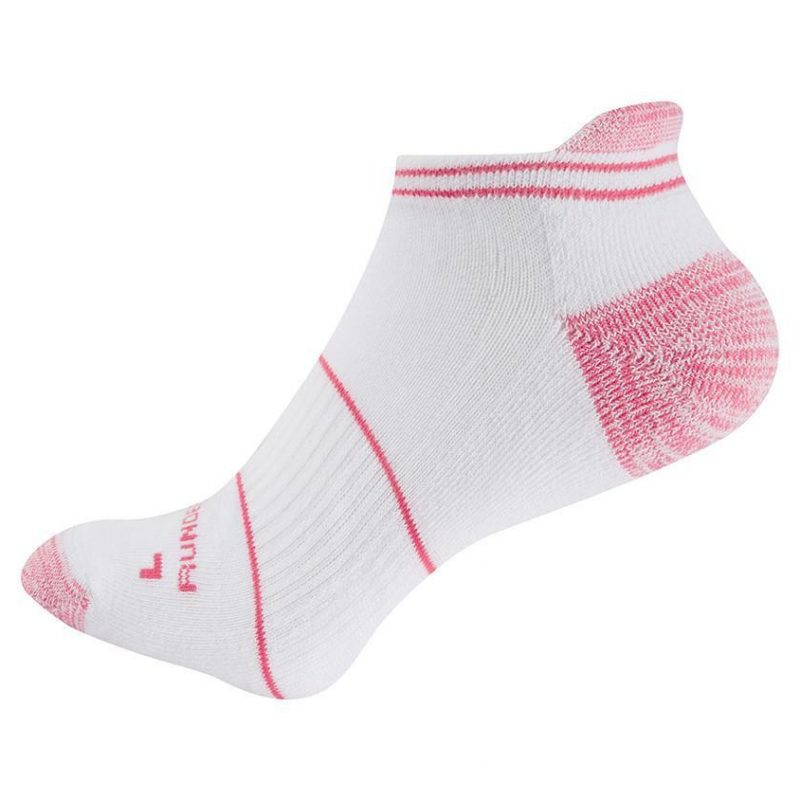 SockletPink 800x800 - Womens Anti Blister Low-Rise Running Sock