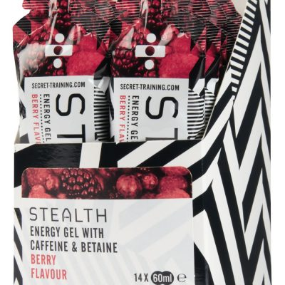 Stealth Energy Gels berry 400x400 - Energy Gel with Caffeine & Betaine  - Berry