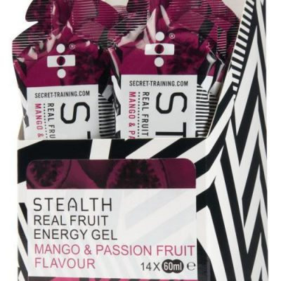 Stealth Energy Gels mango 400x400 - STEALTH Real Fruit Energy Gel - Mango & Passion Fruit