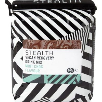 VEGAN RECOVERY DRINK MIX 400x400 - STEALTH Vegan Recovery Protein Drink Mix - Mint Chocolate