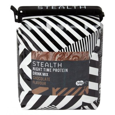 night time protein drink mix 3d7c6408 d26f 4b15 b56d 51d39c40777f 400x400 - STEALTH Night Time Protein Drink Mix  (Chocolate) 500g
