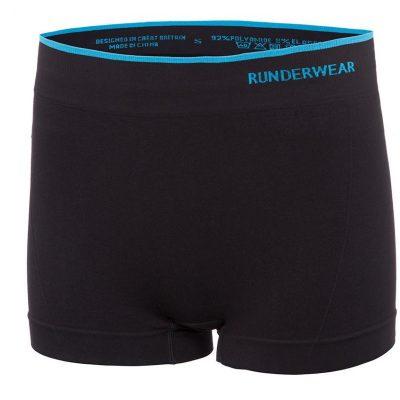 runderwear womens hotpant black 400x400 - Women's Runderwear Hot Pants