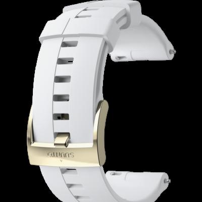 SS023485000 Spartan Sport Wrist HR White Gold Strap 400x400 - 20 URB1 SILICONE STRAP WHITE/GOLD S