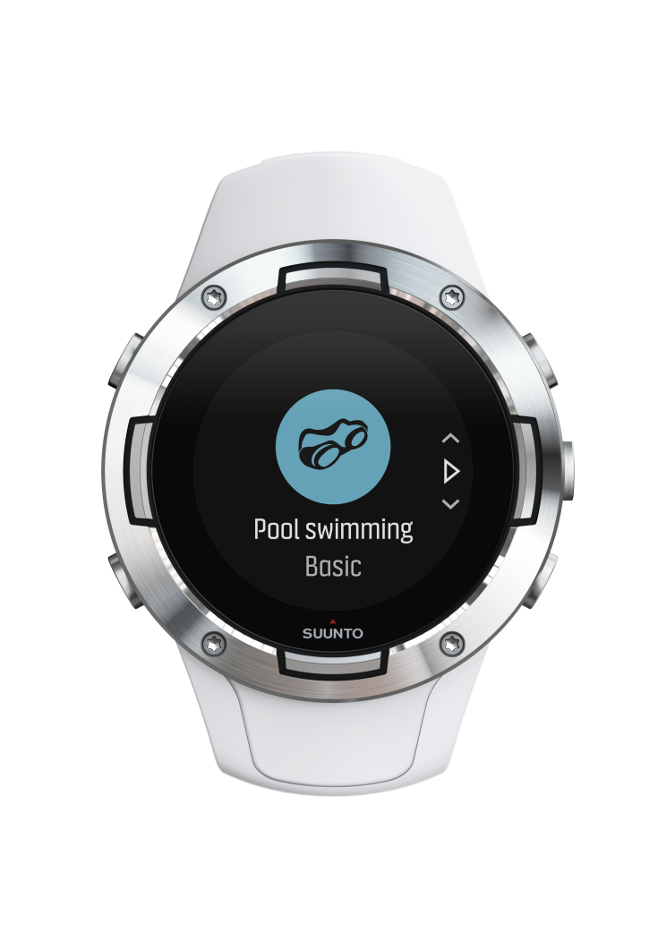 SS050300000+-+SUUNTO+5+G1+WHITE+-+Front+View_choosing+swimming+mode_compressed