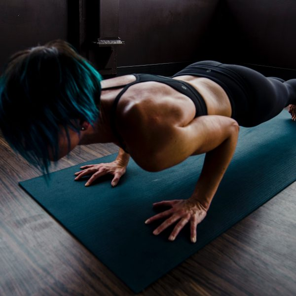 woman doing push ups 2780762 600x600 - Facing the COVID-19 Fitness Challenge - Tim Lawson's Tips