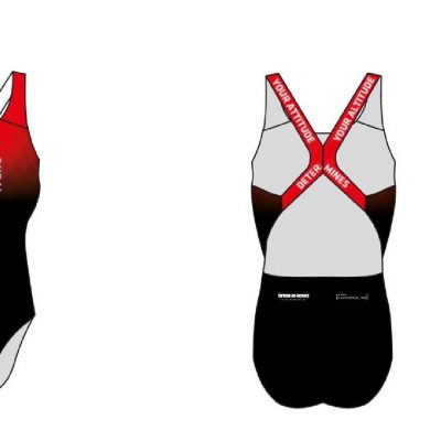 Sported TriDubai customswim suit 400x400 - TriDubai custom kit ladies one piece swim suit