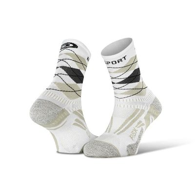 "socks running rsx evo burlington white grey collector edition 2 400x400 - Running socks RSX collection ""BURLINGTON"""