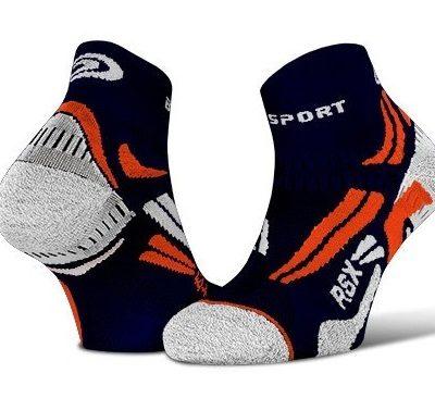 ankle socks rsx evo blue orange 400x366 - RSX Evo Socks Running
