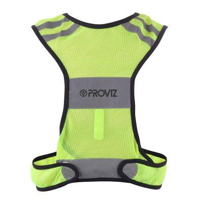 39. hivis front lowres 1 400x400 - Classic Hi Viz Running Vest