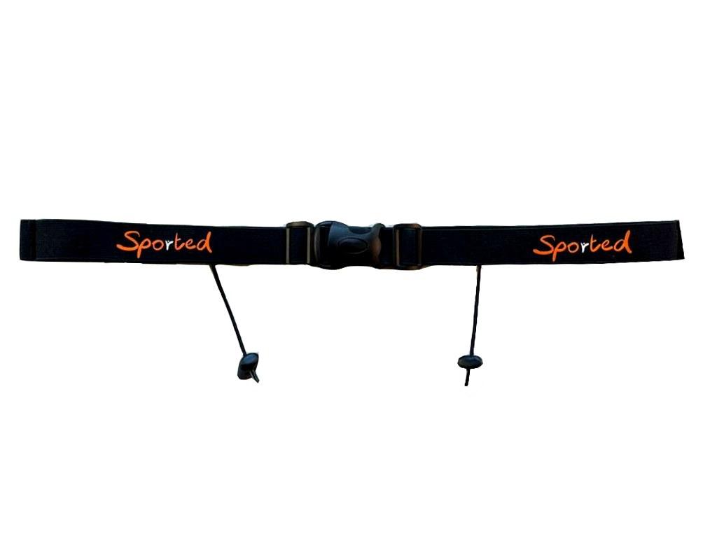 Sported Race Belt with Gel Loops 1
