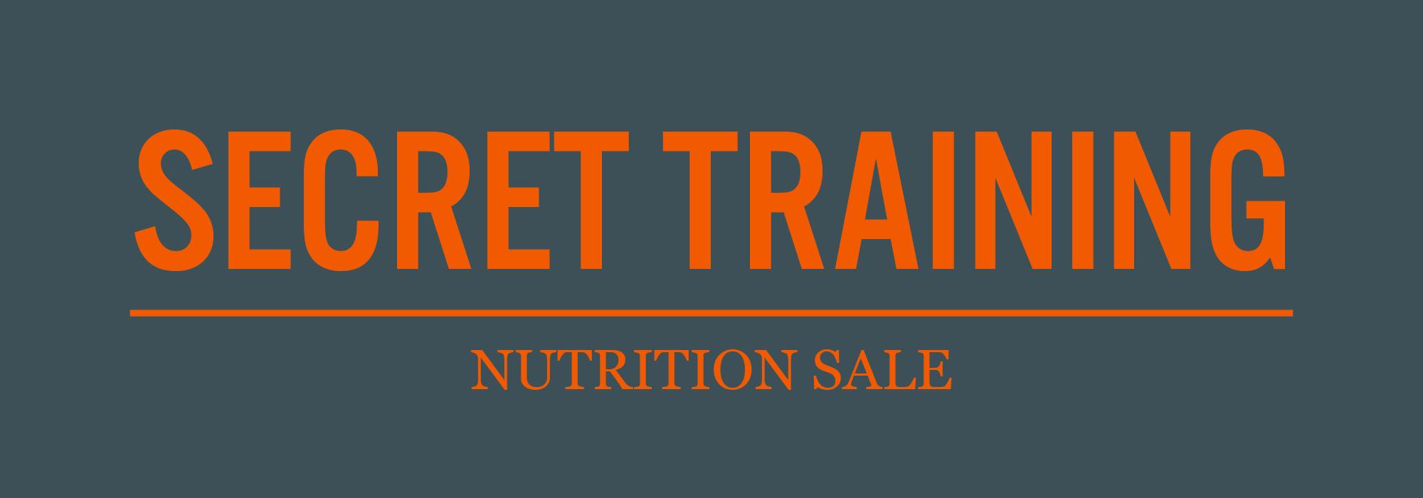 Nutrition Sale
